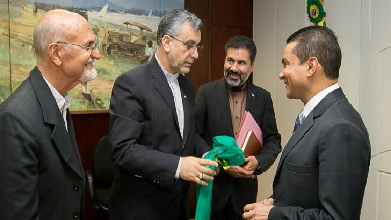 Brazil and Iran discuss progress on bilateral trade agenda