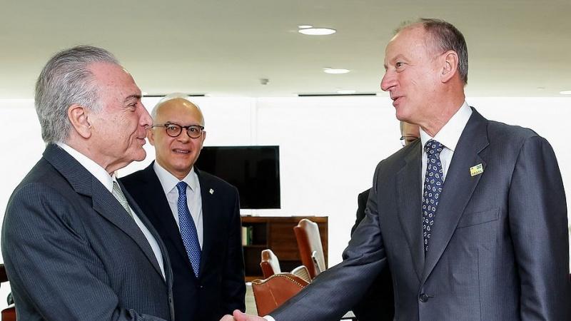 Brasil e Rússia discutem segurança internacional para a Copa do Mundo 2018