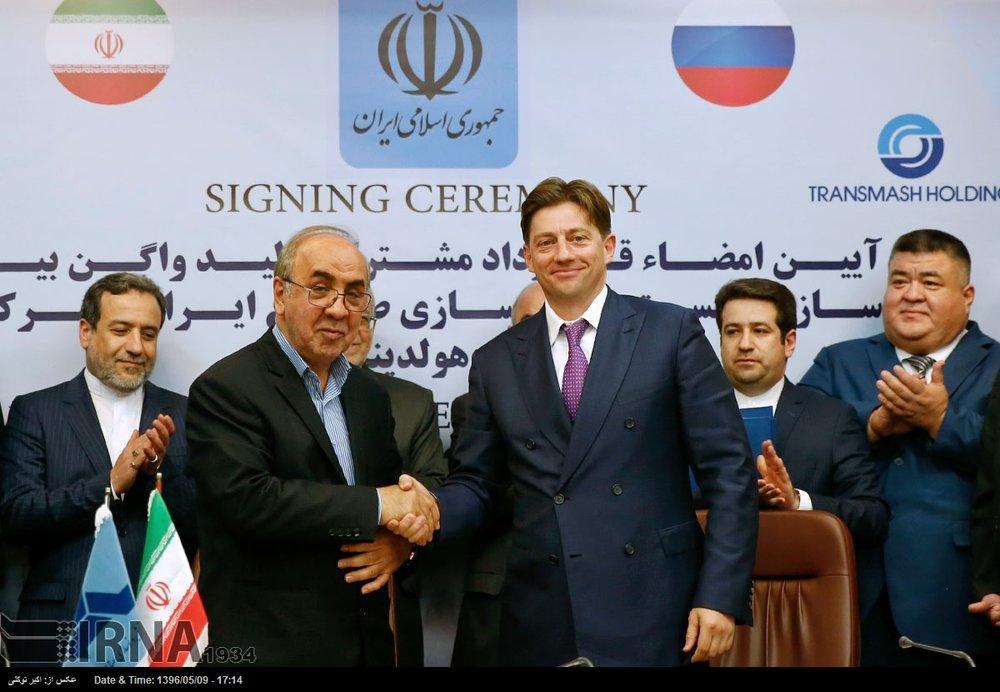 Irã assina contrato ferroviário de € 2,5 bilhões com a Rússia
