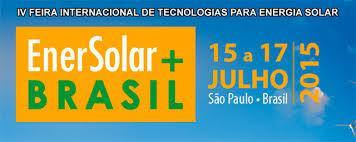 FEIRA INTERNACIONAL DE TECNOLOGIAS PARA ENERGIA SOLAR,15-17 de julho de 2015,SP.