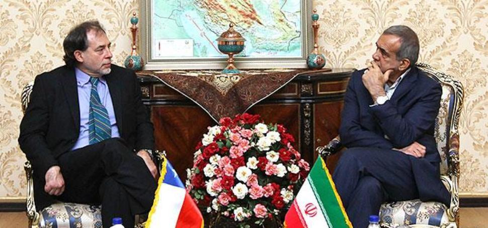 Iran, Chile stress enhancing all-out ties