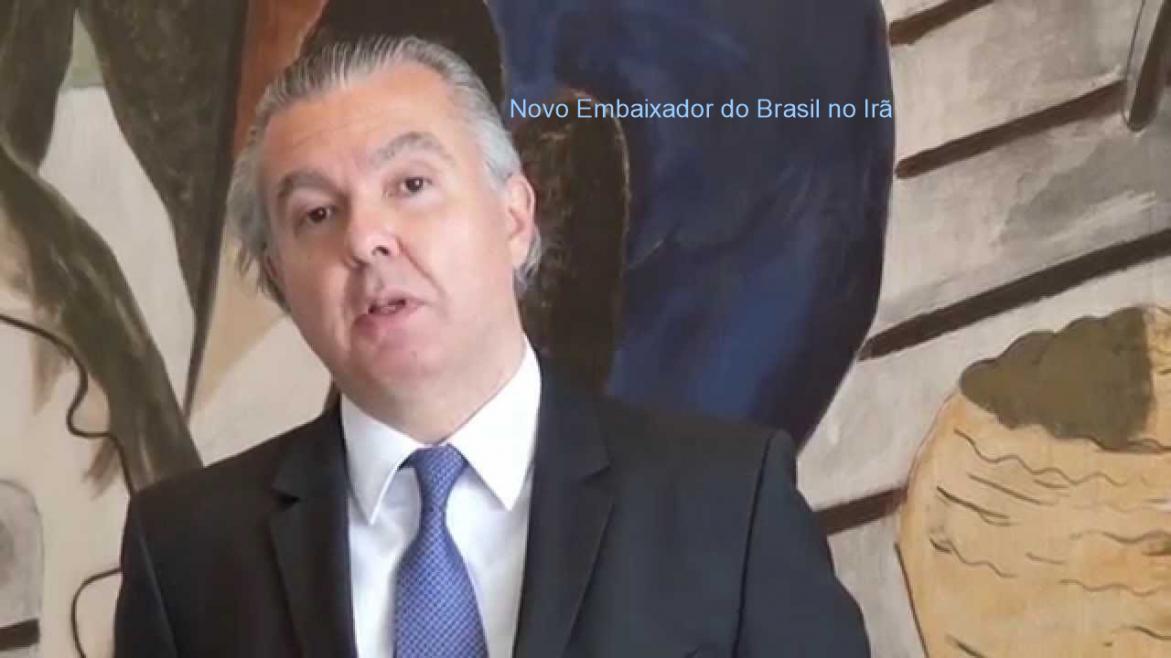 Presidente da CCIBI - Farrokh Faradji Chadan, Felicita a excelente escolha do novo Embaixador do Brasil no Irã