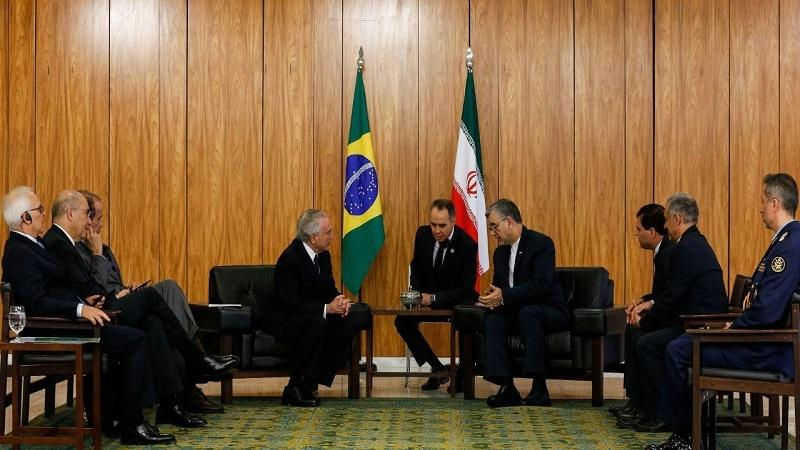 Embaixador do Irã apresentou as cartas credencias ao Michel Temer