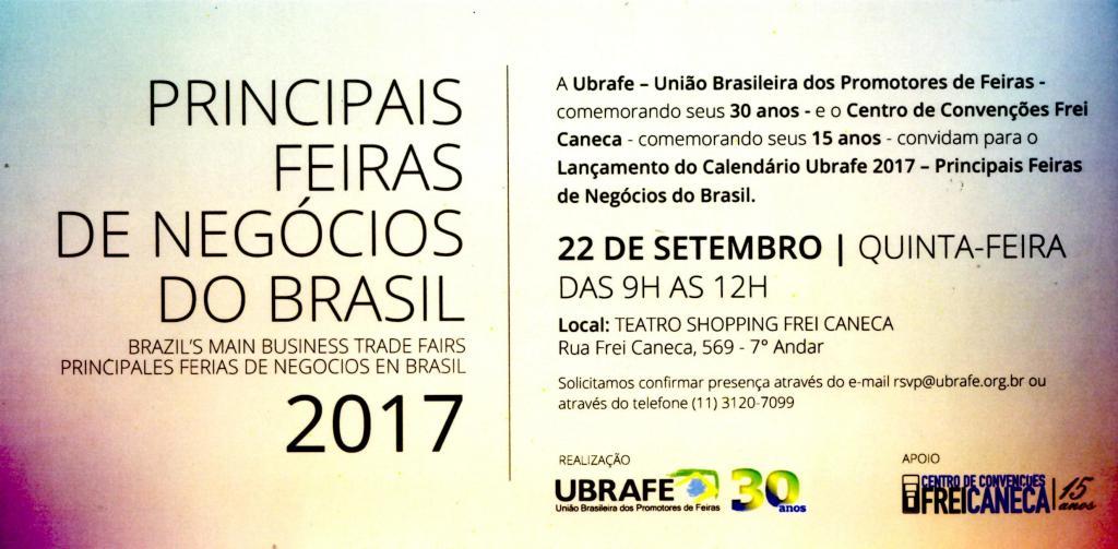 Lançamento do Calendário Ubrafe 2017