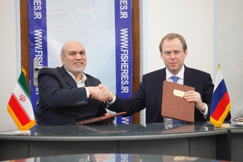 Irã e Rússia assinam MoU sobre cooperativa de pesca