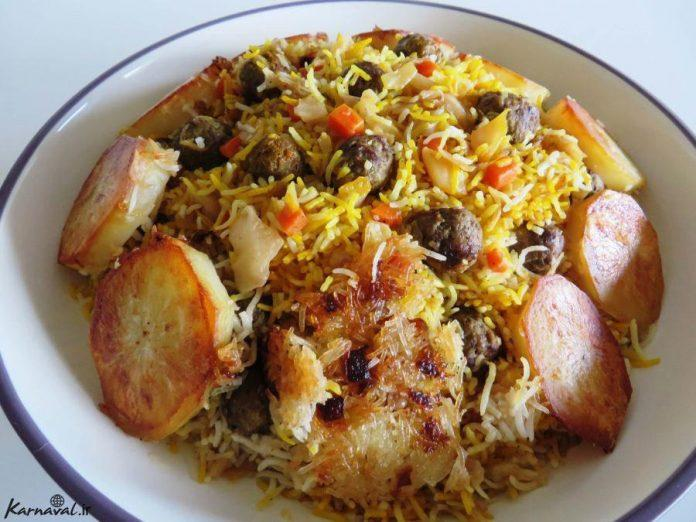 Havij-Polo; Uma combinação deliciosa de arroz, cenoura