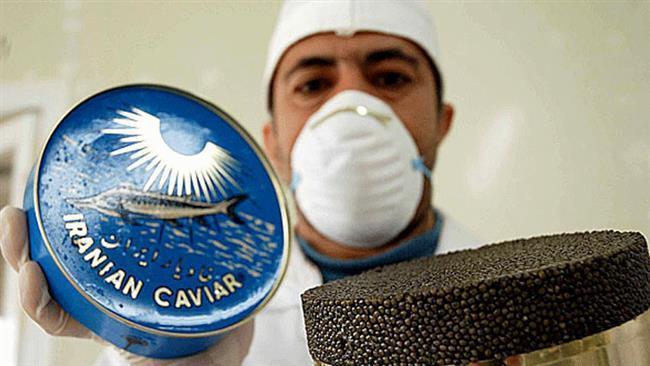 Irã vê salto na saída caviar premiado