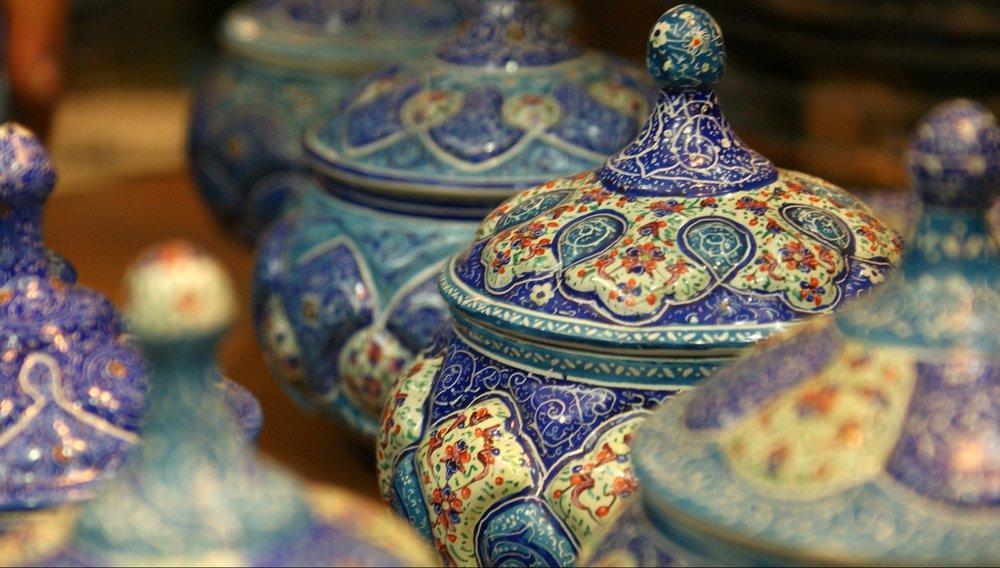Exportação de artesanato do Irã sobe em 4 meses 36% em relação ao ano anterior