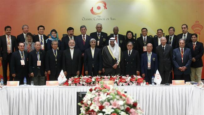 Irã escolhido para sediar Oeste Jogos Asiáticos