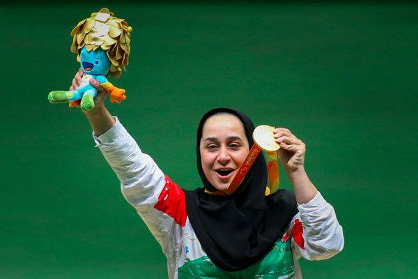 Iran's Javanmardi wins gold at shooting