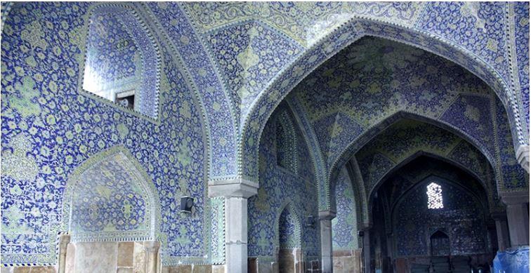 Venha conosco ao Irã - 16 -  província de Isfahán - Mesquita de Imam Khomeini (que Deus o abençoe)