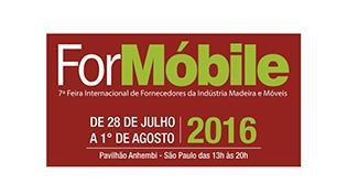 FORMÓBILE 2016 Feira Internacional de Fornecedores da Indústria Madeira e Móveis