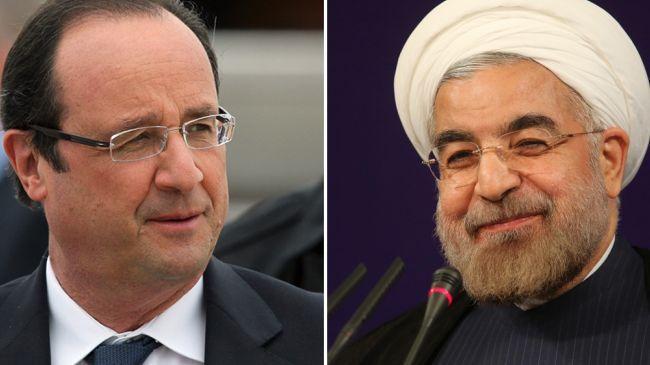 Hollande para atender Rouhani em Nova York