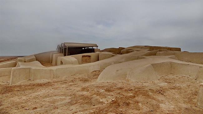 Arqueólogos encontram muro mais alto já encontrado perto do Irã Burnt Cidade