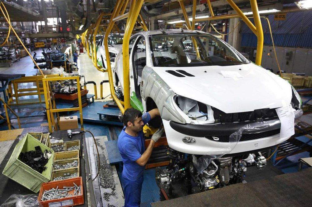 Produção automóveis do Irã cresceu 10,6% em 5 meses em comparação ao mesmo período do ano anterior