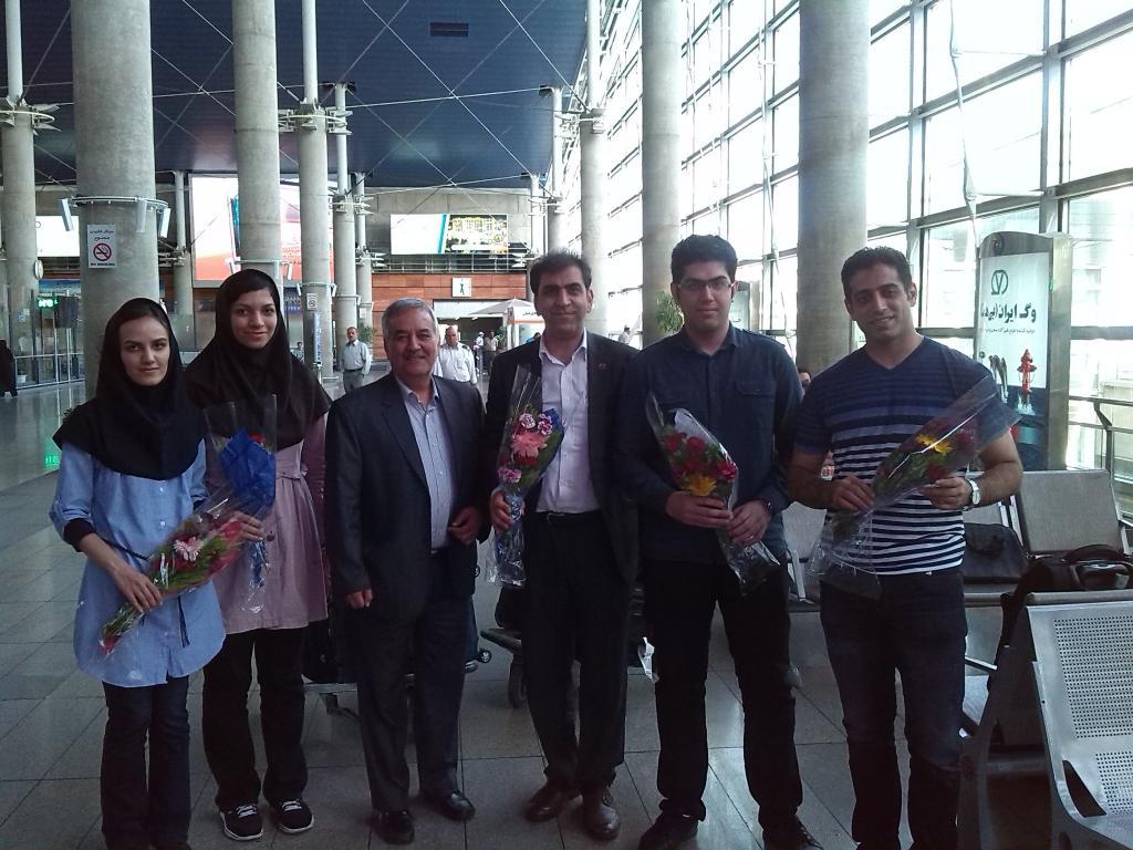 Iranianos ganhar quatro medalhas em West xadrez meet asiática