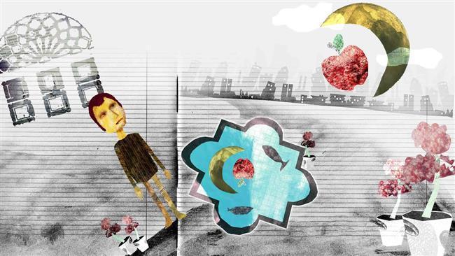 Ucrânia festival projeto exibe obras de Nourayi do Irã