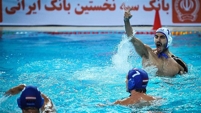 Irã bate Áustria 12-7, atinge pólo aquático int'l evento final