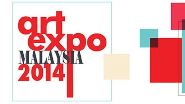 Artistas Irã obras expostas no Art Expo Malaysia