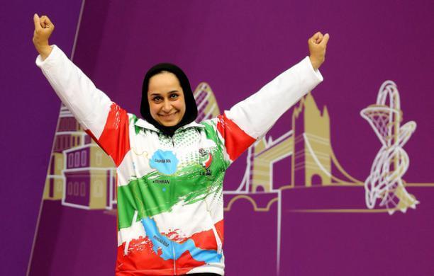 Sareh Javanmardi ganha o ouro em 2015 IPC Tiro Copa do Mundo