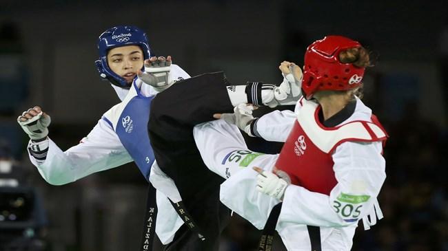 Alizadeh do Irã ganha Bronze nos Jogos Olímpicos em taekwondo na classe 57 kg