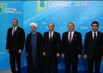 Cimeira do Mar Cáspio realizada na Rússia