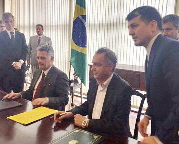 O Fundo de Garantia à Exportação do Irã (EGFI) e as ABGF iranianos e brasileiros assinam MoU para facilitar o comércio
