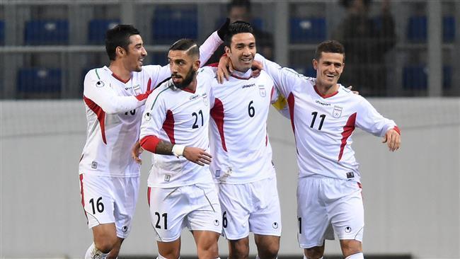 Irã encabeça Ásia, 40 no ranking mundial de futebol