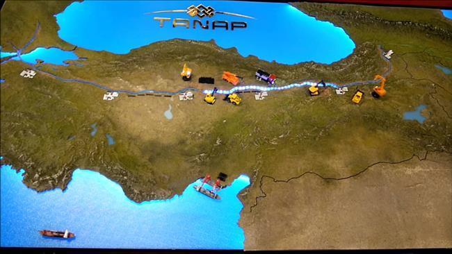 Irã pode comprar a participação no projeto de gás da UE