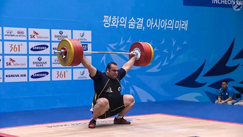 Iraniano Behdad Salimi quebra recorde mundial em halterofilismo nos Jogos Olímpicos Rio 2016