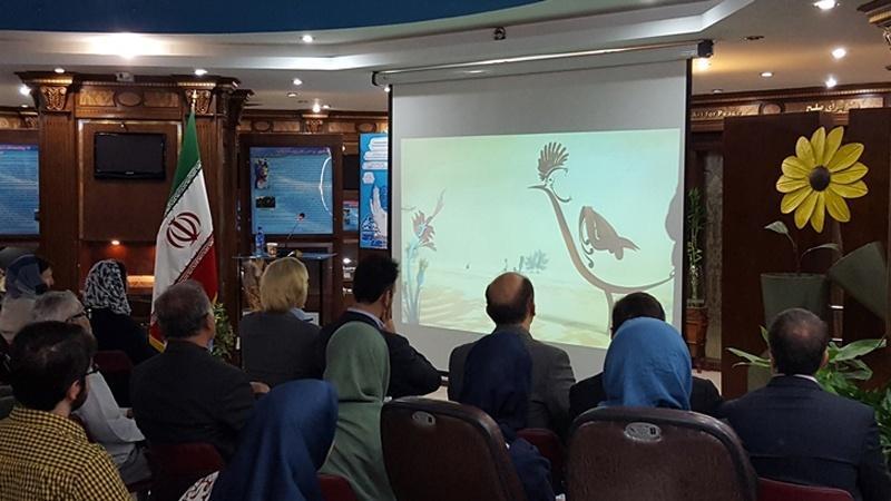 Um dia no museu da paz do Irã