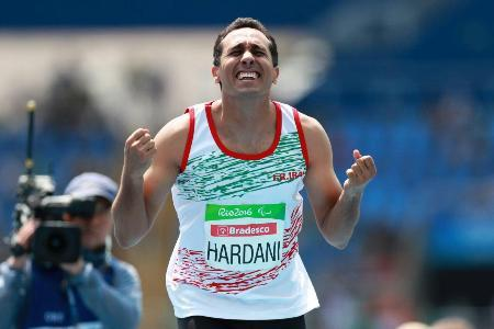 Hardani wins bronze medal at Paralympics