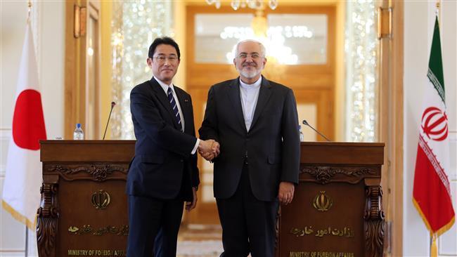 Ministros das relações exteriores do Japão e do Irã concordam sobre acordo de investimento.