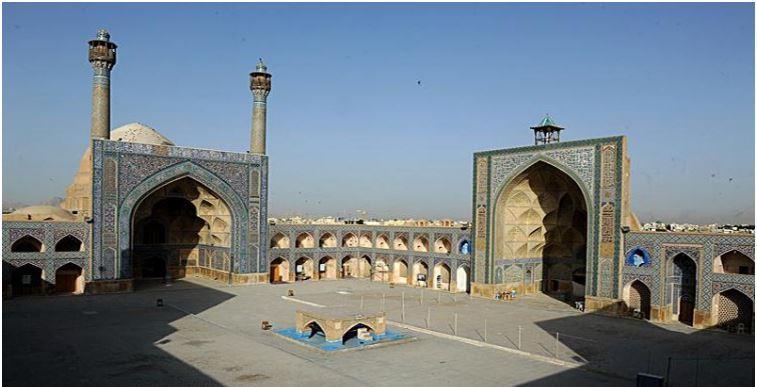 Venha conosco ao Irã - 22 - província de Isfahán - Mesquita Jaame
