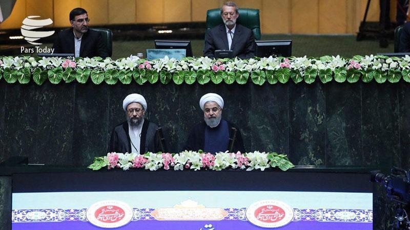 Rouhani tomou posse como 12º presidente iraniano