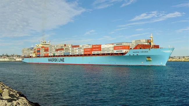 Maersk Line adiciona o segundo serviço de alimentação Iran-UAE