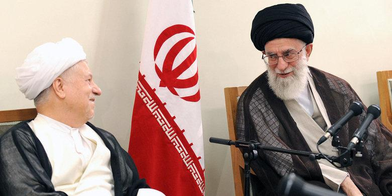 O Líder Aiatolá Seyyed Ali Khamenei expressa condolências pela morte de Rafsanjani