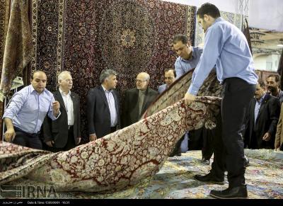 25ª Exposição de Tapetes Feitos à Mão do Irã abre hoje no Teerã Internacional Fairgrounds