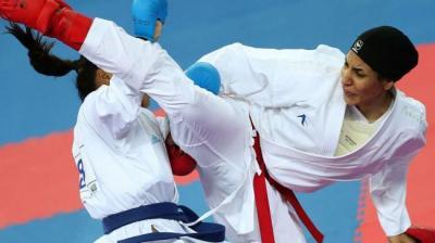 Karateka feminino Irã chega a final em torneio internacional