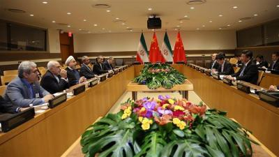 China: Energy a priority in ties with Iran.