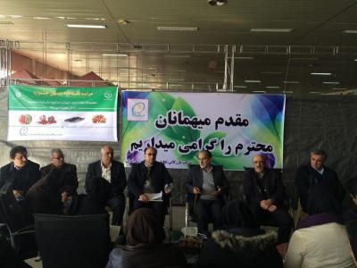 2º Festival de Produtos Agrícolas Carne e Frutos do Mar e Artesanato em curso em Teerã