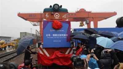 'Silk Road' train departs China for Iran