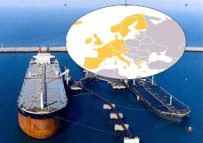 1st consignment of South Pars gas condensates destined to Europe