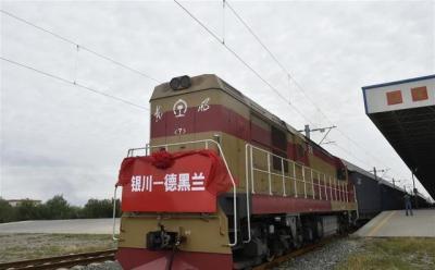 Trem de carga começa uma longa jornada da China para o Irã