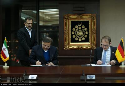 Iran, Germany pen agreement on expanding transport co-op