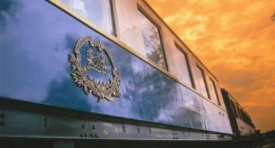 Trem de luxo deixa Rússia 'Golden Eagle' e parte para o Irã