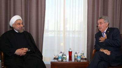 Irã está pronto para fornecer gás à Europa através da Áustria: Rouhani