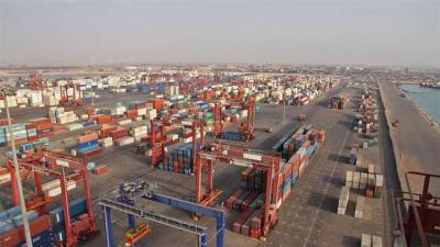 15 principais companhias marítimas internacionais fazem escala no porto do Sul Iraniano