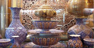 Venha conosco ao Irã - 17 - província de Isfahán - mercado de Gheisariye