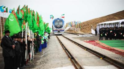 Primeiro Silk Road ferroviário de carga entre o Irã